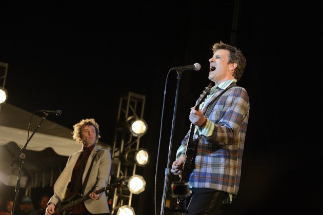 Tommy Stinson, left, and Paul Westerberg were caught on tape at Toronto's RiotFest on Sunday. / Photo by Tony Nelson