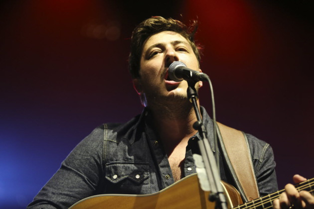 "Marcus Mumford said, ""It's cute there are so many virgins,"" in regards to Wednesday's crowd at Xcel Energy Center -- meaning fans seeing them for the first time. / Renee Jones Schneider, Star Tribune"