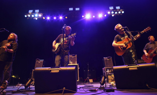 Trampled by Turtles followed up their three-night stand at First Avenue in April with the MN Music-on-a-Stick concert at the State Fair grandstand in early September. / Kyndell Harkness, Star Tribune
