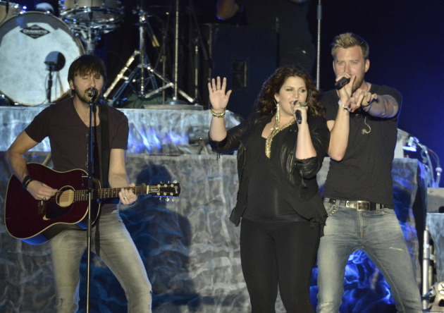 Singer Hillary Scott performed with Lady Antebellum in April at California's Stagecoach Festival and gave birth in July. / Photo by Dan Steinberg/Invision/AP