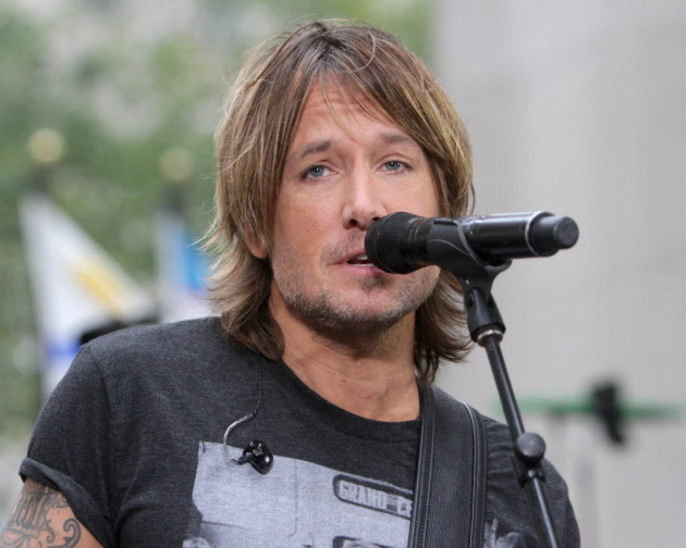 "Keith Urban on NBC's ""Today"" show. / Greg Allen/Invision/AP"