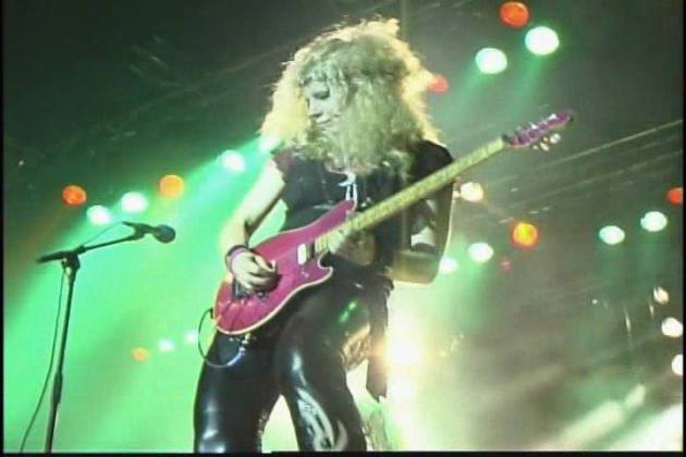 Jan Kuehnemund was once called the best female guitarist by Kerrang! magazine during Vixen's late-'80s heyday.