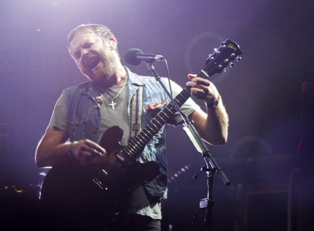 Caleb Followill and Kings of Leon headlined the two-weekend Austin City Limits Festival earlier this month. / Jack Plunkett, AP Invision