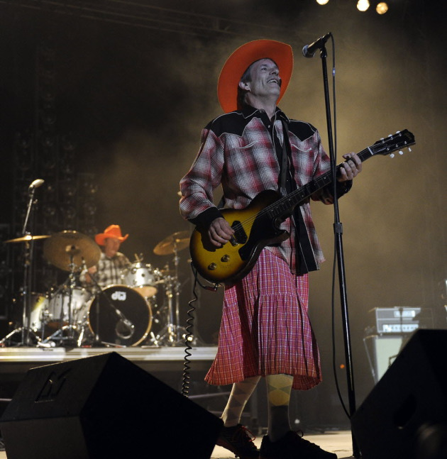 Paul Westerberg might need another hat at Coachella like the one he wore at the Replacements' last show at RiotFest outside Denver in late September. / Setch McConnell, Denver Post via Getty Images