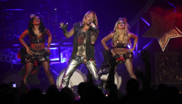 Vince Neil and the Crue last performed at Xcel Energy Center in 2011 with Poison. / Kyndell Harkness, Star Tribune