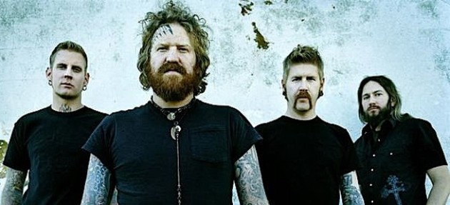 The friendly looking fellas of Mastodon will return To First Ave on May 7. / Publicity photo