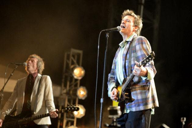 Tommy Stinson, left, and Paul Westerberg first returns as the Replacements at Toronto's RiotFest in August. / Photo by Tony Nelson