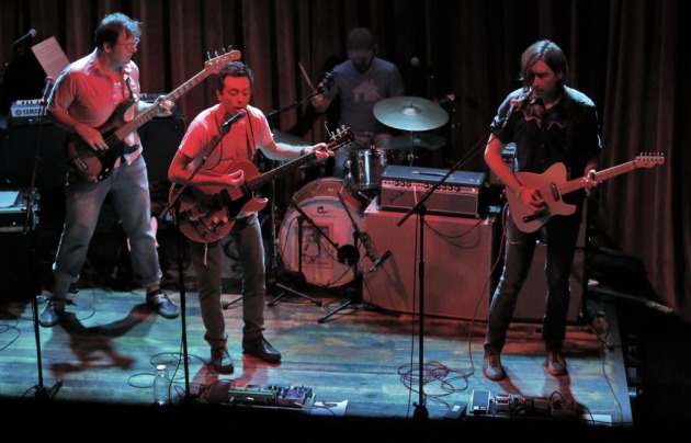 The Cloak Ox will make their headlining debut at First Avenue for the March 6 Are You Local? showcase, though the members certainly have played it before with their other bands. From left: Mark Erickson, Andrew Broder, Martin Dosh and Jeremy Ylvisaker. / Star Tribune file
