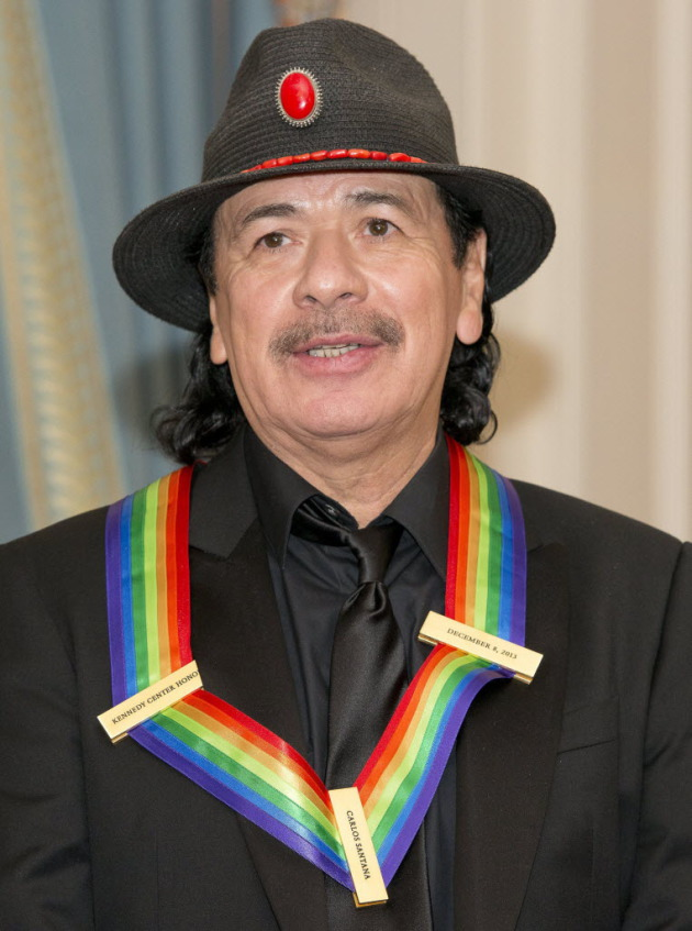 Carlos Santana earned his Kennedy Center Honor in December. / Ron Sachs, Abaca Press