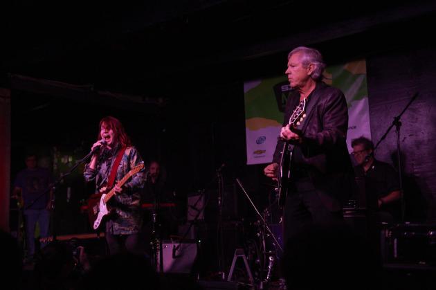 Austin's Carolyn Wonderland and the Stooges' James Williamson.