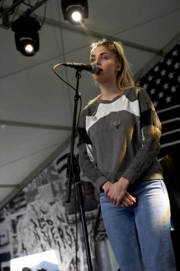 London Grammar's Hannah Reid