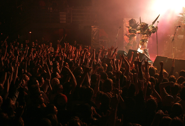 GWAR played to another packed club at First Avenue in November 2004, the night the club reopened after a court battle nearly shuttered it for good. / Jeff Wheeler, Star Tribune