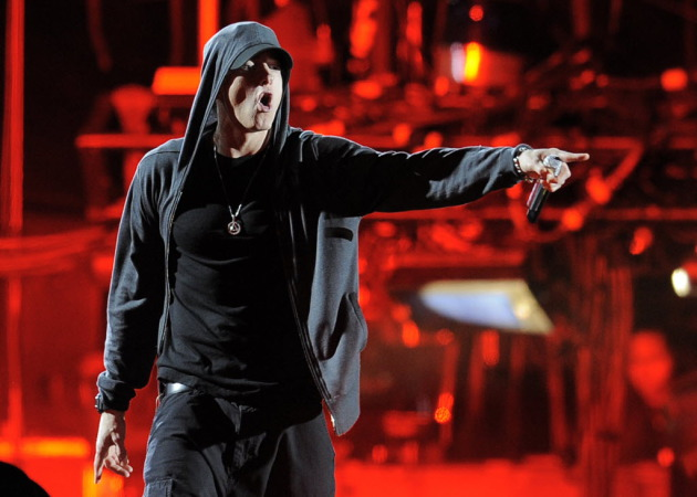 Eminem headlined Coachella in 2012 and is back on the festival circuit this summer. / Chris Pizzello, Associated Press