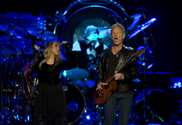 Stevie Nicks and Lindsey Buckingham played Xcel Energy Center last April before bassist John McVie was diagnosed with cancer. / Jeff Wheeler, Star Tribune