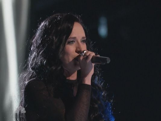 "Kat Perkins was originally picked in ""The Voice's"" blind auditions after singing Fleetwood Mac's ""Gold Dust Woman."". / Courtesy NBC"