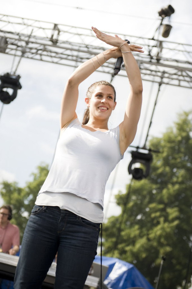 Dessa with Doomtree at RTG 2012. / Star Tribune file
