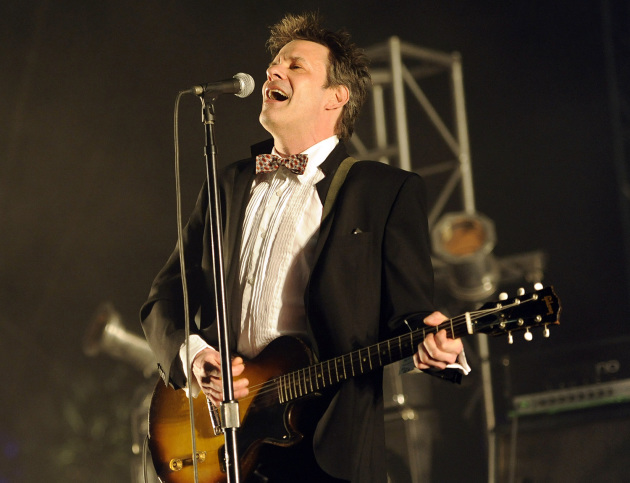 Paul Westerberg brought the Replacements reunion into 2014 last weekend and the weekend before at the Coachella Music Fest. / Chris Pizzello, AP/Invision