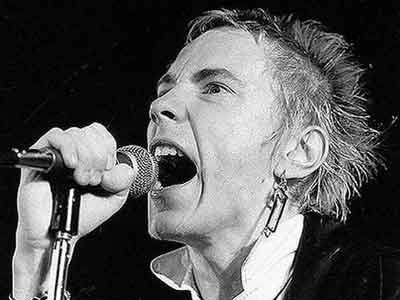 Lydon as Johnny Rotten