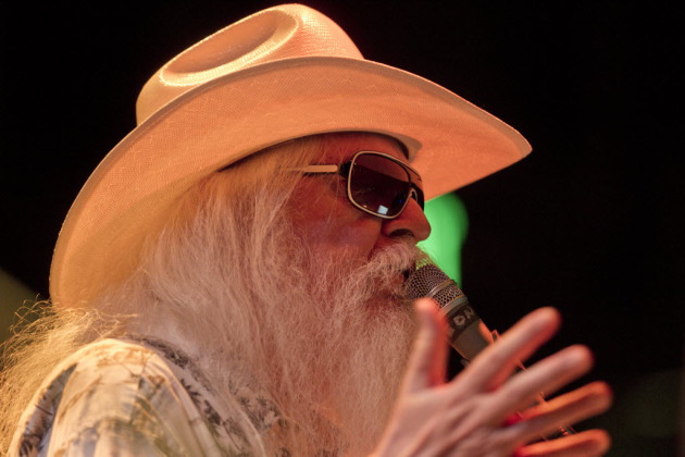 After his Rock and Roll Hall of Fame induction in 2011, Leon Russell played a two-nighter at the Dakota in 2012 and returned for one sold-out show Saturday at the Cedar Cultural Center. / Jeff Wheeler, Star Tribune
