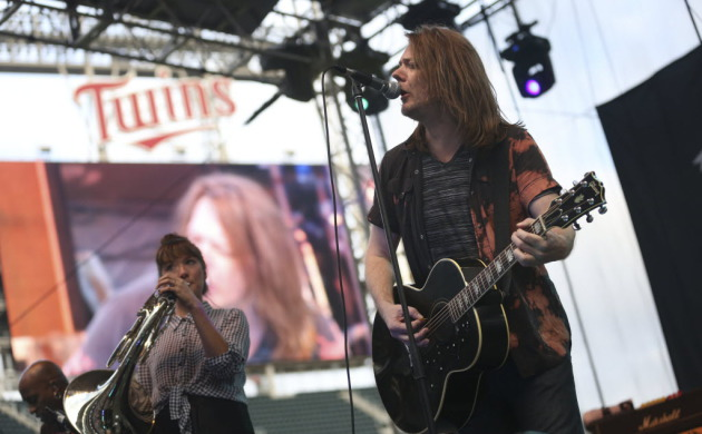 With frontman Dave Pirner its only original member, Soul Asylum performed outdoors last summer at Target Field's Skyline Music Fest. / Kyndell Harkness, Star Tribune
