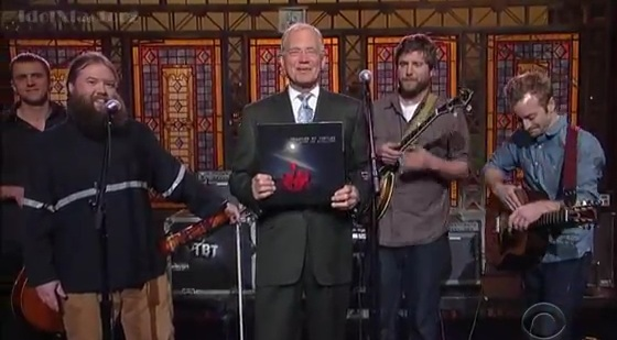 "Trampled by Turtles played ""The Late Show With David Letterman"" in 2012 and return next week."