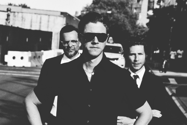 Interpol's members don't look too happy about their upcoming tour. Perfect. / Photo by Eliot Lee Hazel