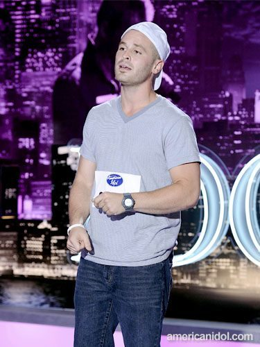 "Lawrence in ""American  Idol"" auditions."