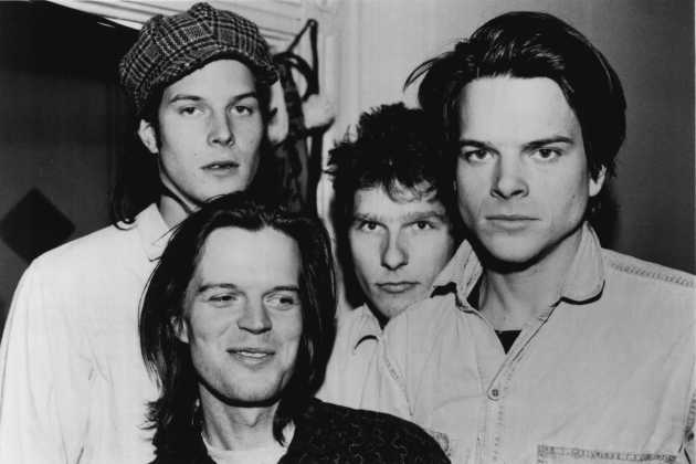 Run Westy Run's 1990 publicity photo for SST Records. From left: Kraig Johnson, Kyle Johnson, Terry Fisher and Kirk Johnson.