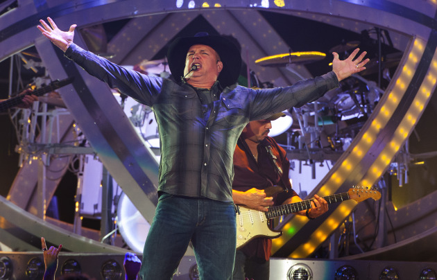 Garth Brooks kicked off his first tour in 16 years at Allstate Arena in Rosemount, Ill., in early September. / Photo by Barry Brecheisen/Invision/AP