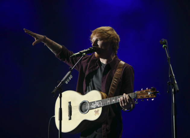 "Ed Sheeran performed at Target Center in September and contributed a live track to Cities 97's latest ""Sampler."" / Jeff Wheeler, Star Tribune"