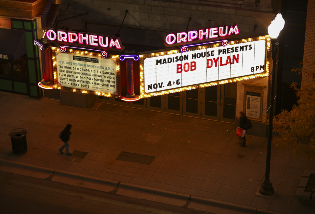 Before the marquee changed. / Jeff Wheeler, Star Tribune