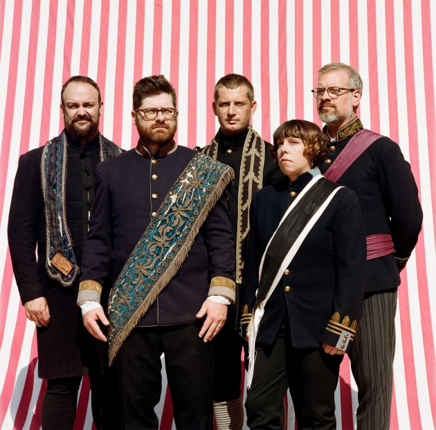 The Decemberists' new album arrives Jan. 20. / Photo by Audtumn de Wilde