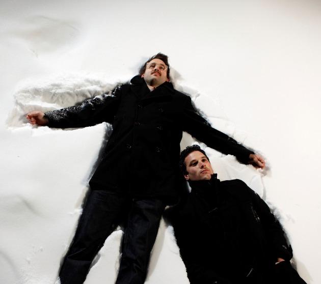 Brian Moen, left, and Peter Pisano of Peter Wolf Crier. / Carlos Gonzalez, Star Tribune