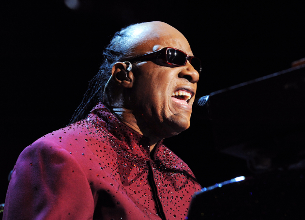 Stevie Wonder performed recently in Las Vegas and will be the subject of a Grammys tribute concert next month. / AP Photo/Las Vegas News Bureau, Brian Jones