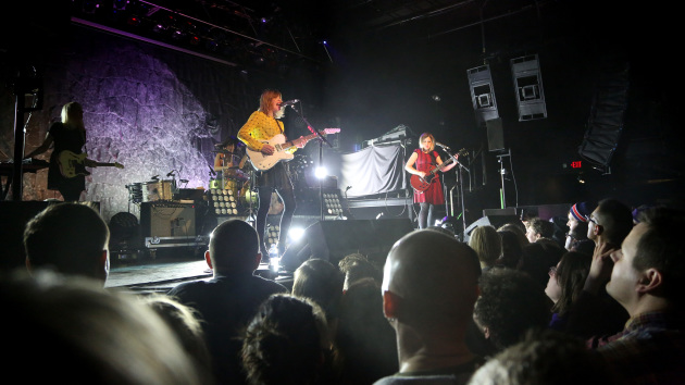 Saturday's very sold-out show was only the sixth stop on Sleater-Kinney's first tour in nine years. / Kyndell Harkness, Star Tribune