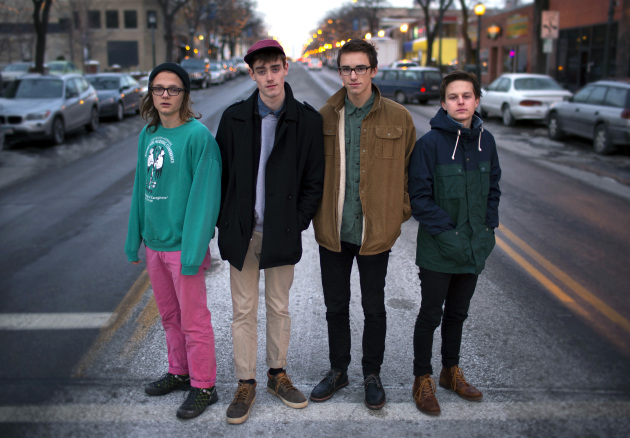 Hippo Campus signed with Trampled by Turtles' and Lizzo's management team last summer and just landed another deal with New York label Grand Jury. / Brian Peterson, Star Tribune