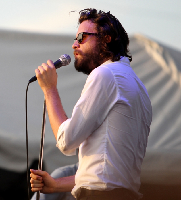 Father John Misty (Josh Tillman) at the BAsilica Block Party in 2013. / Star Tribune file
