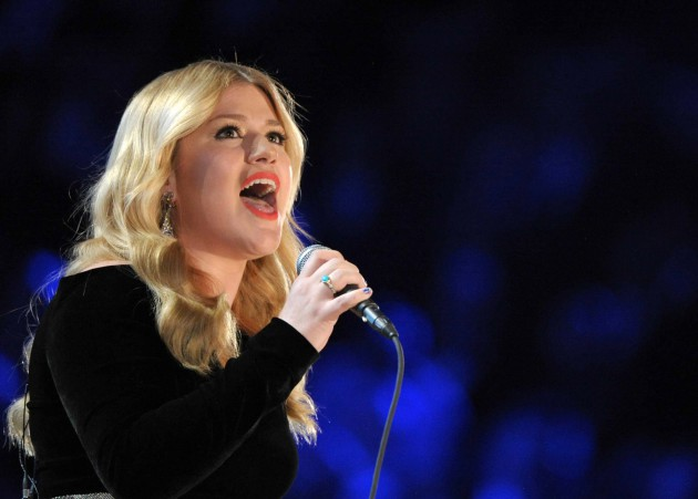 Kelly Clarkson, shown at the Grammy Awards in 2013, issued her sixth record Tuesday. / ASSOCIATED PRESS - John Shearer/Invision/AP
