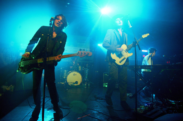 London's Palma Violets at Parish nightclub.