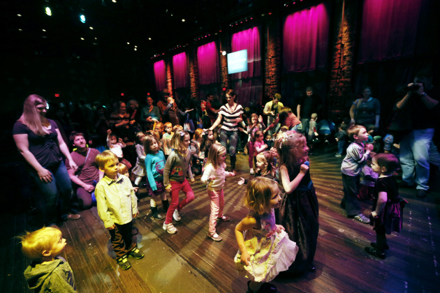 The Kids Disco area was jamming as usual during Rock the Cradle 2013. / Jerry Holt, Star Tribune