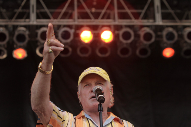 Mike Love is touring as the Beach Boys with Bruce Johnston but no other heyday members. / AP Photo/Barry Gutierrez