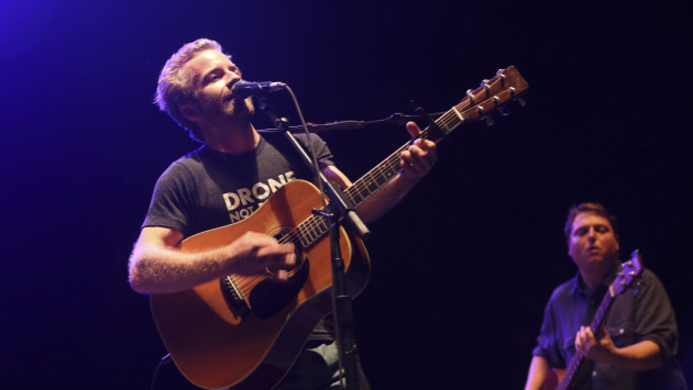 Dave Simonett and Tim Saxhaug strummed under the stars with Trampled by Turtles at the Minnesota State Fair in 2013. / Kyndell Harkness, Star Tribune