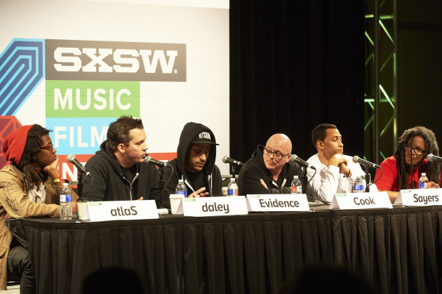 "South by Southwest hosted the panel ""Rhymesayers: Independent Since Day One"" in March. / Tony Nelson"