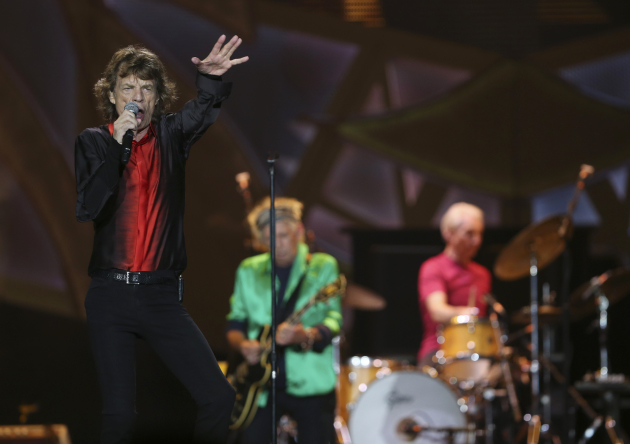 The Rolling Stones played for two hours and 10 minutes Wednesday at TCF Bank Stadium in Minneapolis. / Jeff Wheeler, Star Tribune
