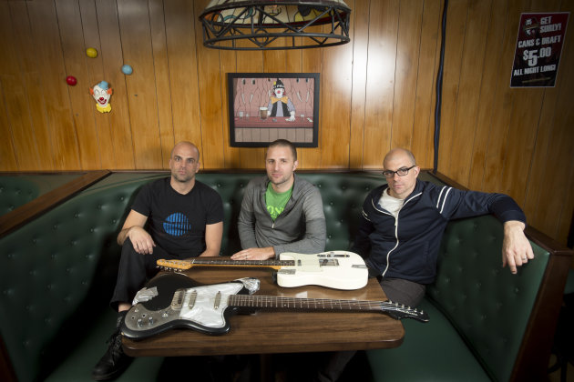 Fresh off playing a few European festivals this spring, the Blind Shake is back home to kick off the Stone Arch Bridge Festival's free concerts Wednesday. / Aaron LAvinsky, Star Tribune