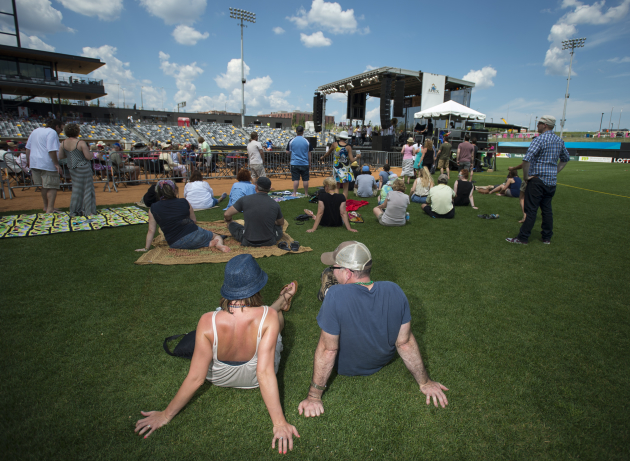 Music fans enjoyed Dr. John at CHS Field last month. / Aaron Lavinsky, Star Tribune