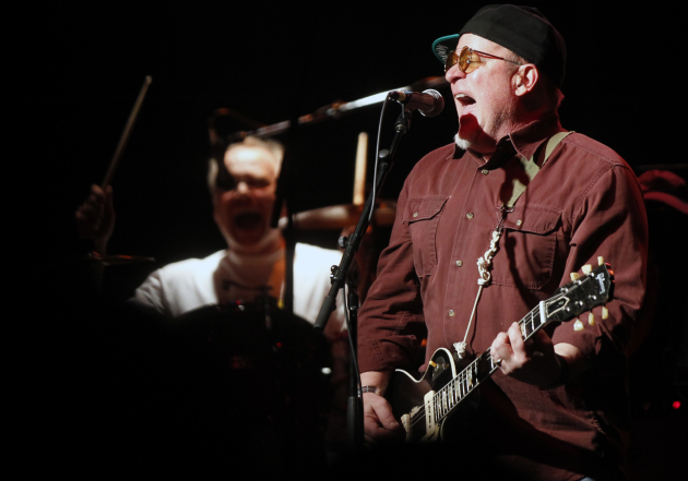Chris Osgood, right, and Dave Ahl during a Suicide Commandos at First Avenue in 2013. / Star Tribune file