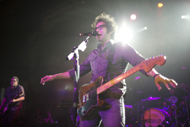 Motion City Soundtrack's Justin Pierre reportedly went nautical on his band's new album. / Jeff Wheeler, Star Tribune