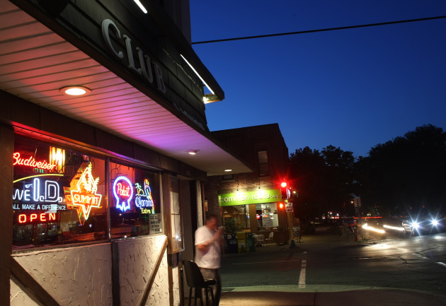 "The CC Club on Lyndale Avenue South played host to the ""Wilson"" wrap party Saturday. / Star Tribune file"
