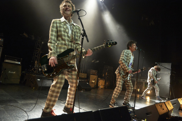 Tommy Stinson with the Replacements at Chicago's Riviera Theater in April. / Tony Nelson for Star Tribune